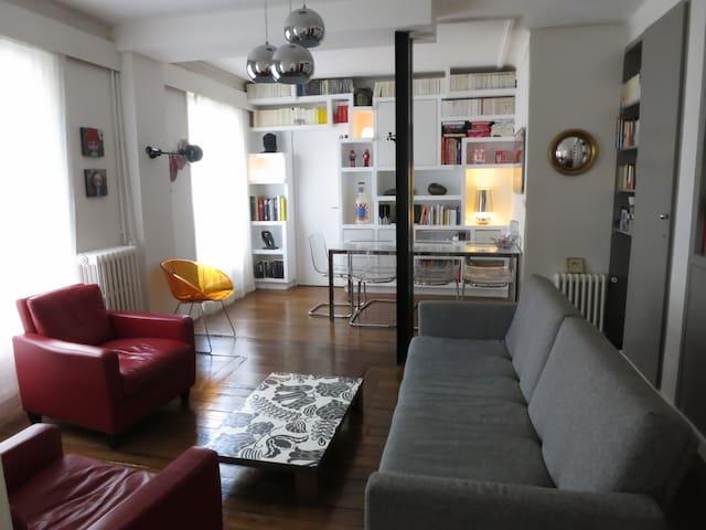 Lovely apartment of 52 m2 in Paris  - Paris - Apartemen