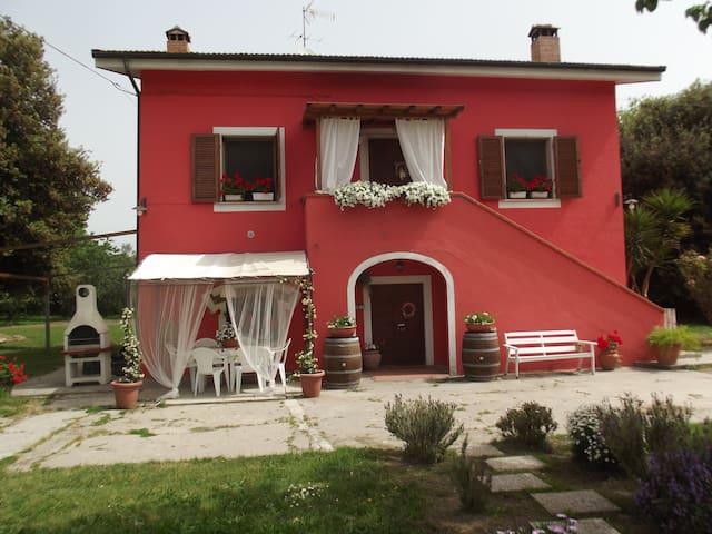 Trilocale in casale shabby toscano - Pisa - Casa