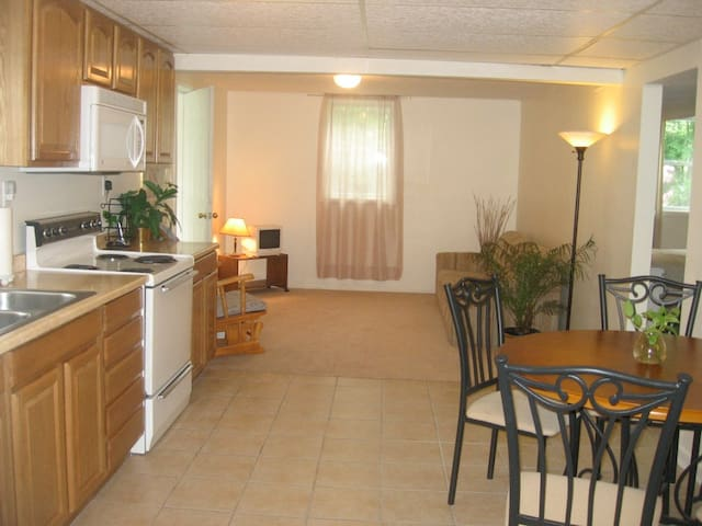 Sweet Little Independent Apartment - Jamesville - Apartamento