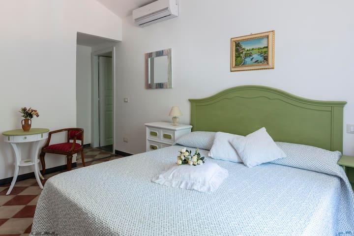 La Brigna B&B | Il Bosco sul Mare | stanza verde