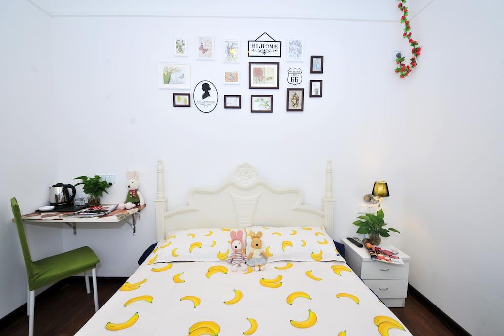 温馨干净舒适房间