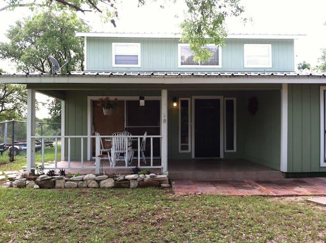Casa Verde  Lake House, Lake LBJ - Marble Falls - House
