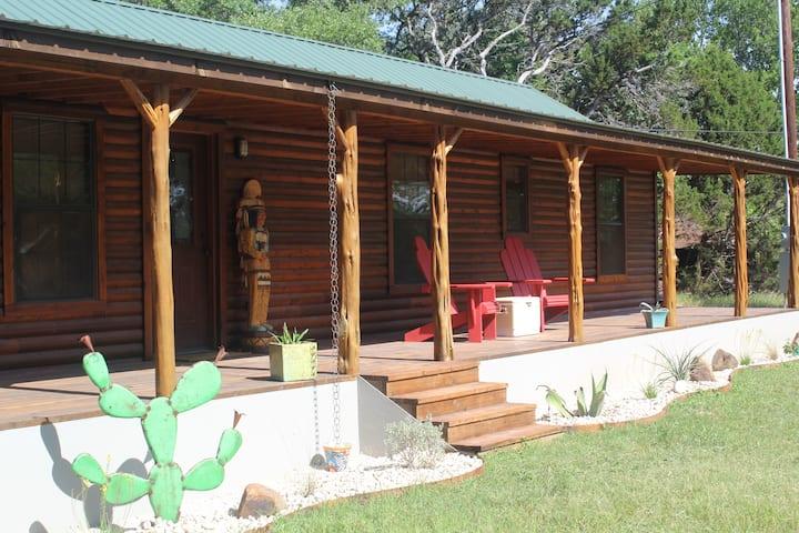 "Log Cabin at Burke Rock Ranch ""The Hive"""
