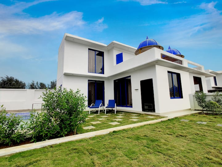 Budget 2BHK villa with private pool