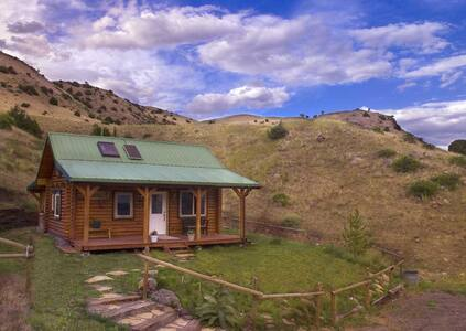 Yellowstone Montana Cabin Healing Retreat #1