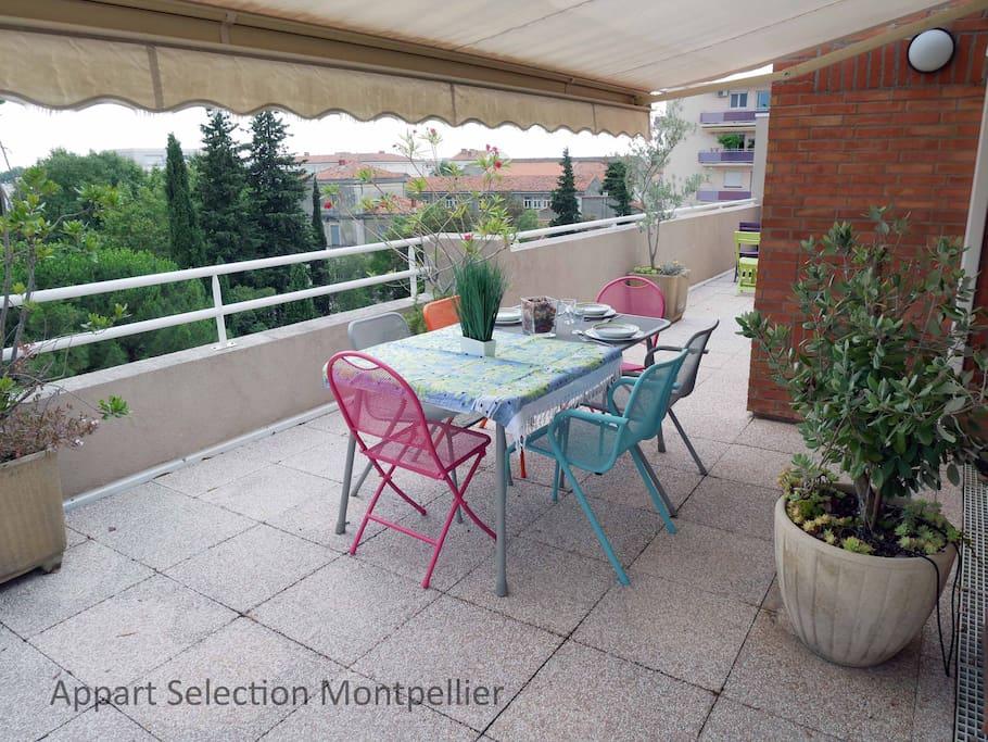 La terrasse du Magestic by Appart Selection