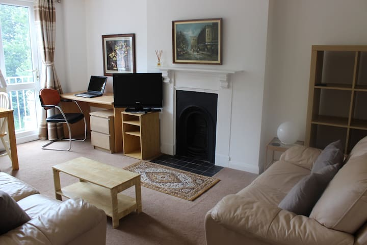 Cozy 2 Bed Apartment in Victorian Property