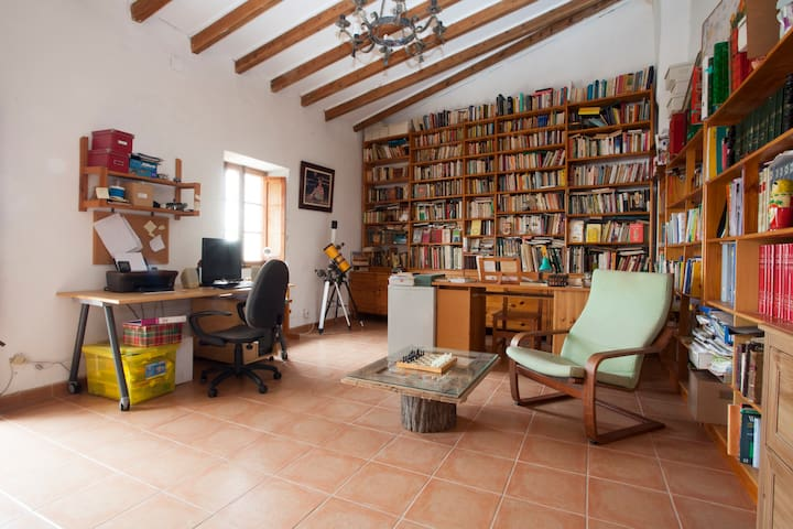 2 Rooms with 2 single beds - Alaró - Haus