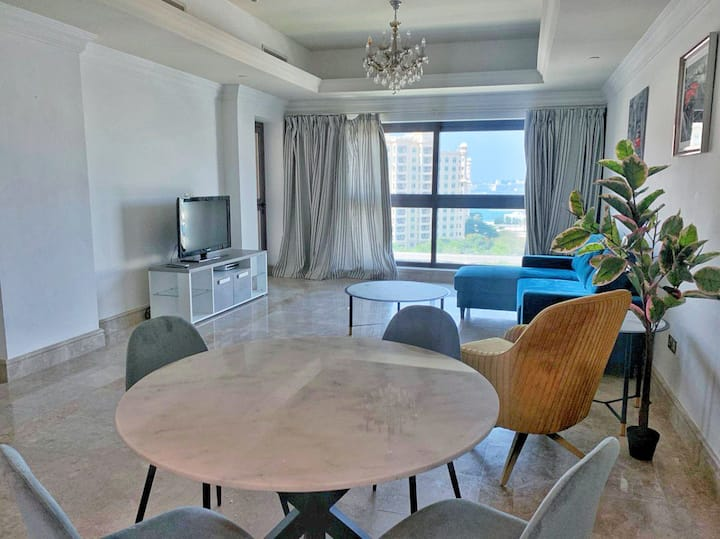 Newly Furnished 1-BR | Balcony w/ View | Perfect Location