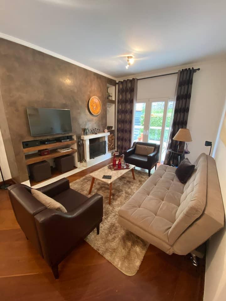 Apartamento no Capivari - 3 min a pé do centro