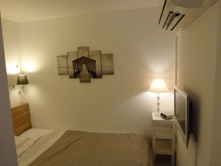 Chambre cabine avec lit de 140*200