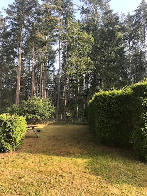 Deliciosa casa de campo con vistas al bosque!