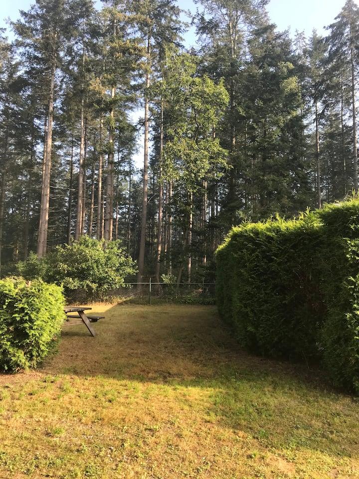 Heerlijk vakantie huisje met uitzicht op het bos!
