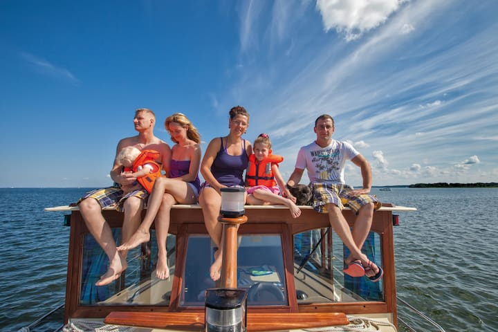 Hausboot Kormoran 1150