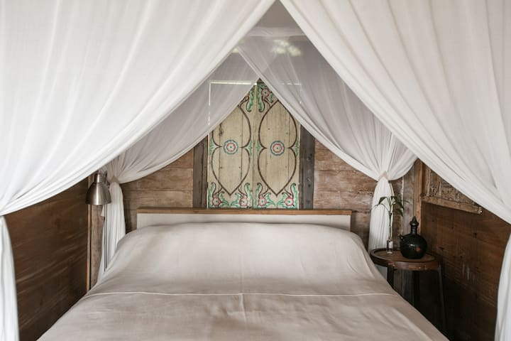 The bed
