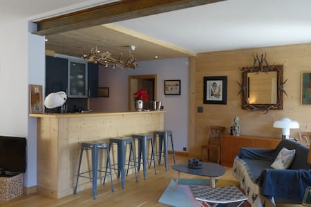 Beautiful central apartment with views - Champéry - 公寓