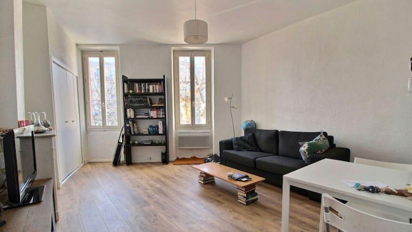 Joli studio lumineux - Aubagne - Appartement
