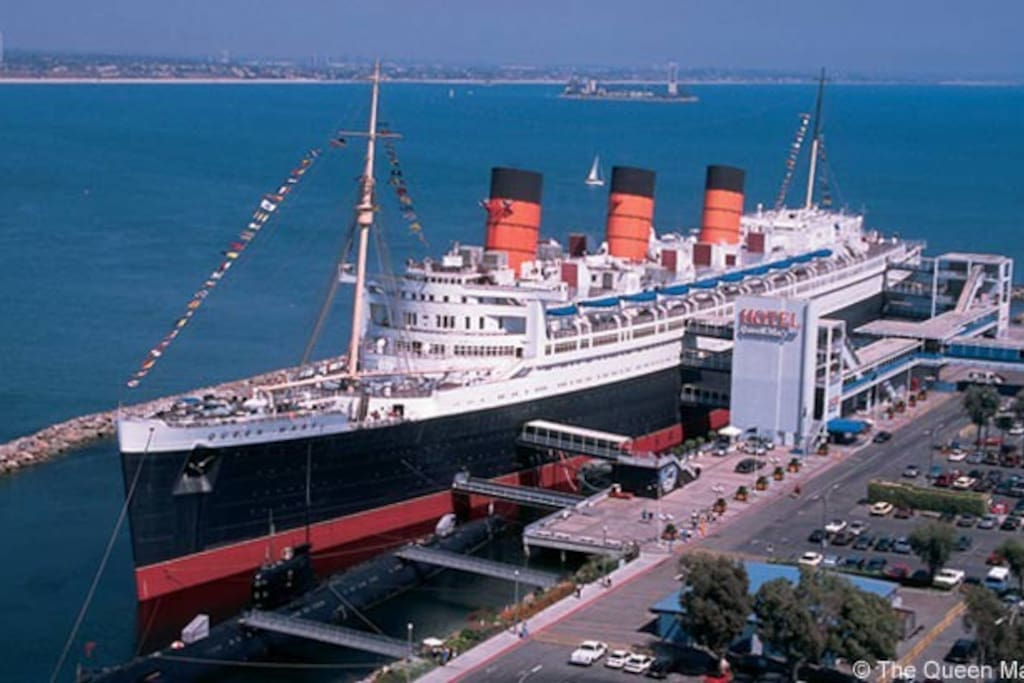 close to  The Queen  Mary