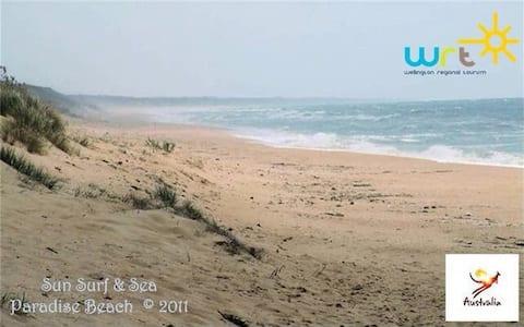 Sun Surf & Sea. Opposite the ocean!