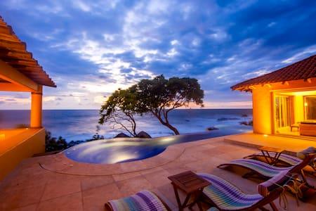 Ocean Front Villa in Marina Chacala - Chacala - Villa
