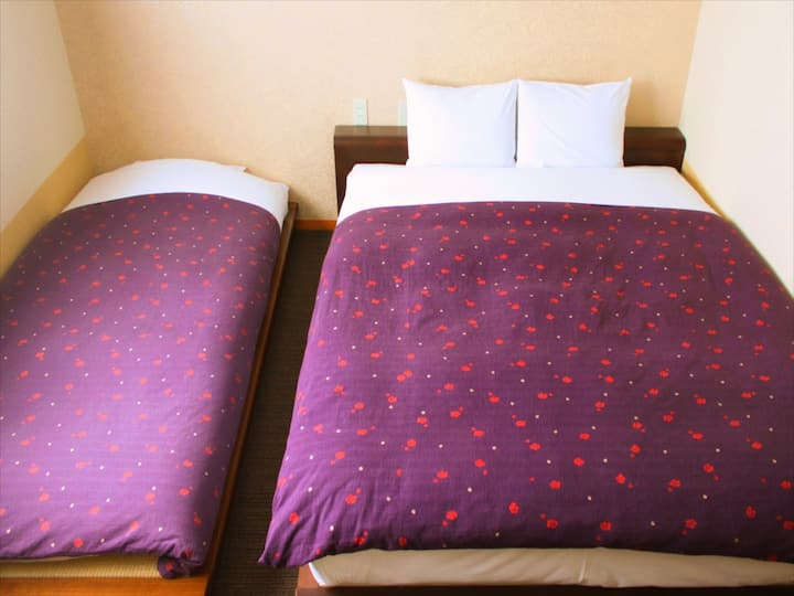 DX Double (+Extra bed) Room with Private bathroom