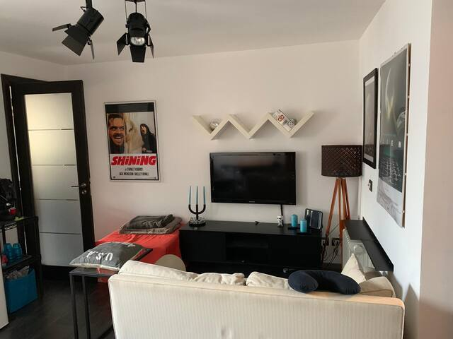 The little movie director's apartment