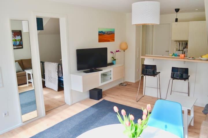 Wunderschöne 2 Zi-Wohnung in Münster mit Terrasse