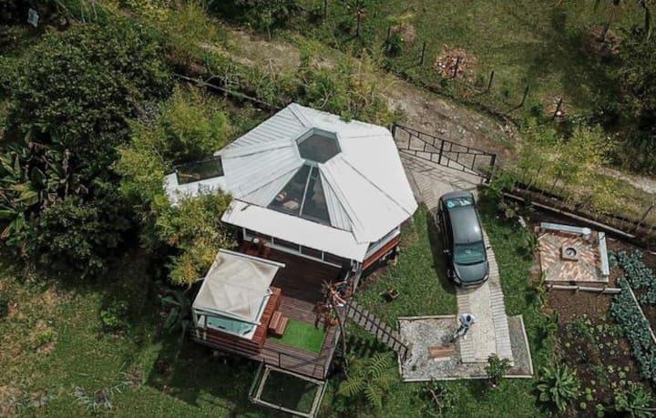 Cabaña Refugio de Ángeles, un sitio acogedor.