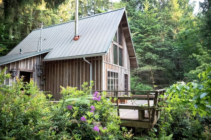 Cozy A-Frame Cabin @ Harper's Hill - Port Orchard