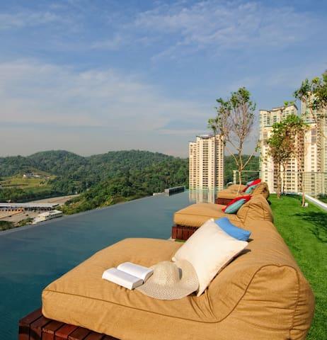 VERVE Suites Mont Kiara KL Malaysia - Kuala Lumpur - Leilighet