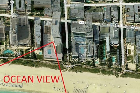 OceanView Lincoln Rd. Studio - Miami Beach