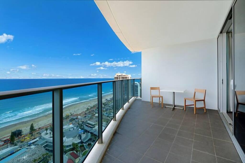 Ridiculous Sized Balcony !!!