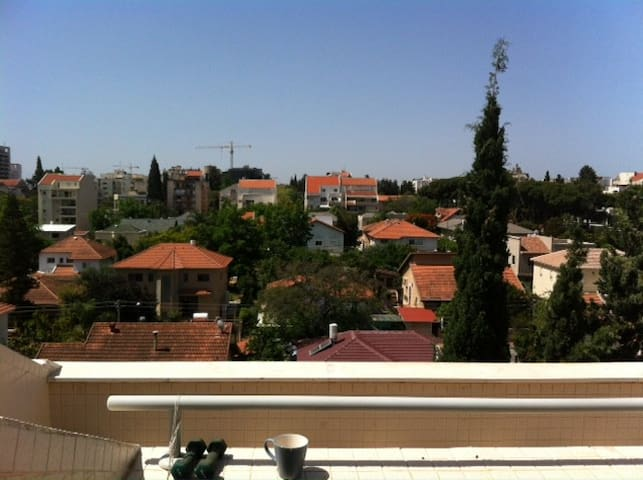 Large room with view, city centre. - Kefar Sava - Apartamento
