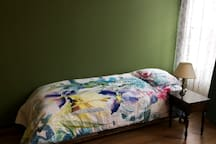 Uses as a proper single bed(80x200cm) in living room
