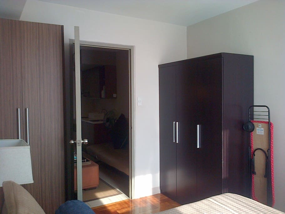 Wardrobe /cupboards in the bedroom