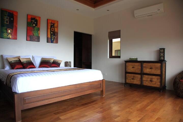 Deluxe top apartment ocean view - Thong Nai Pan Noi - Lejlighed