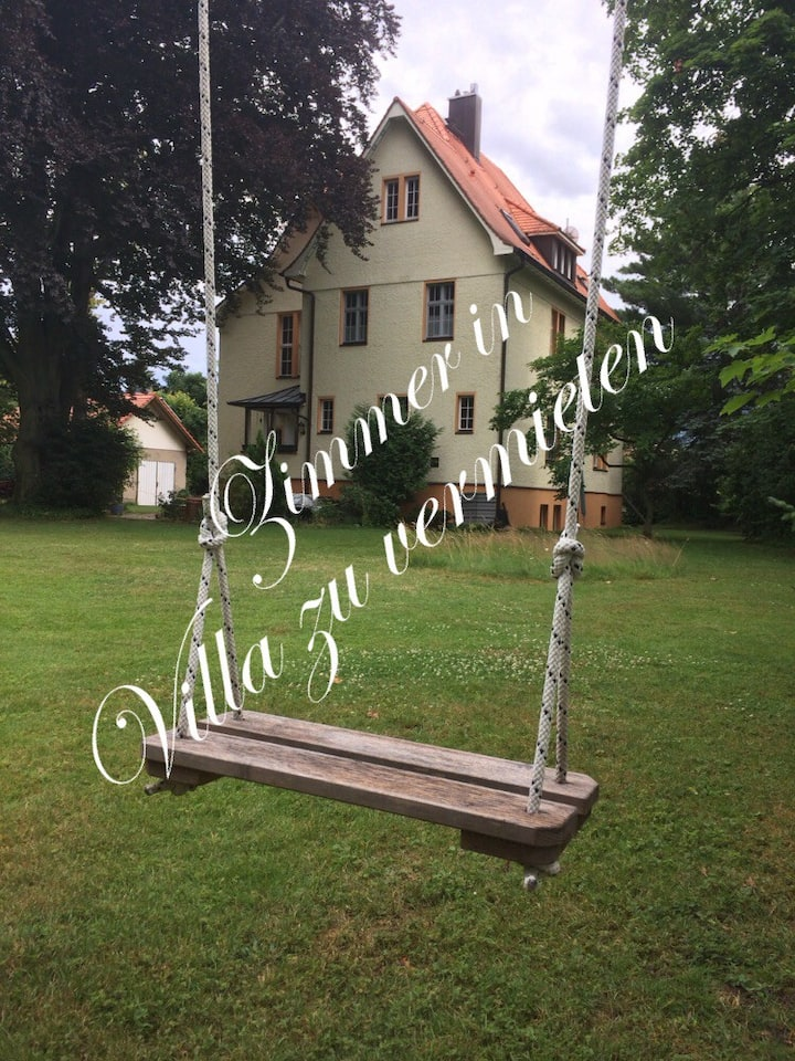 Wunderschöne alte Villa: Zimmer zu vermieten