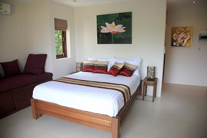 Budget lower apartment ocean view - Thong Nai Pan Noi - Apartamento