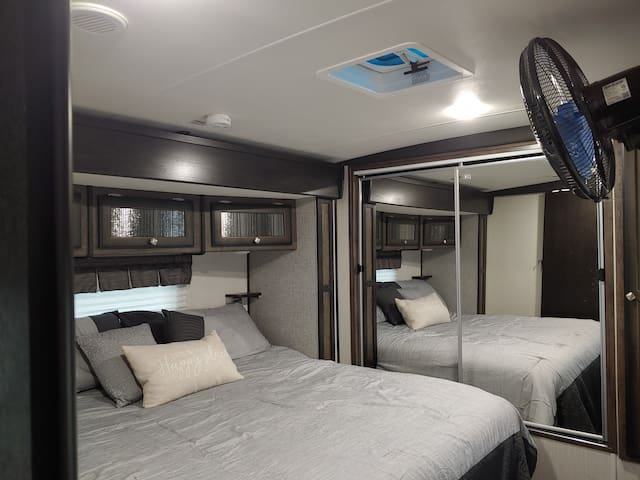 "Cozy RV, a ""home away from home"""