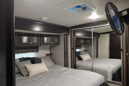 """Cozy RV, a """"home away from home"""""""