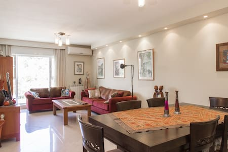 3 bedroom in Jerusalem quiet area - Jerusalem - Leilighet