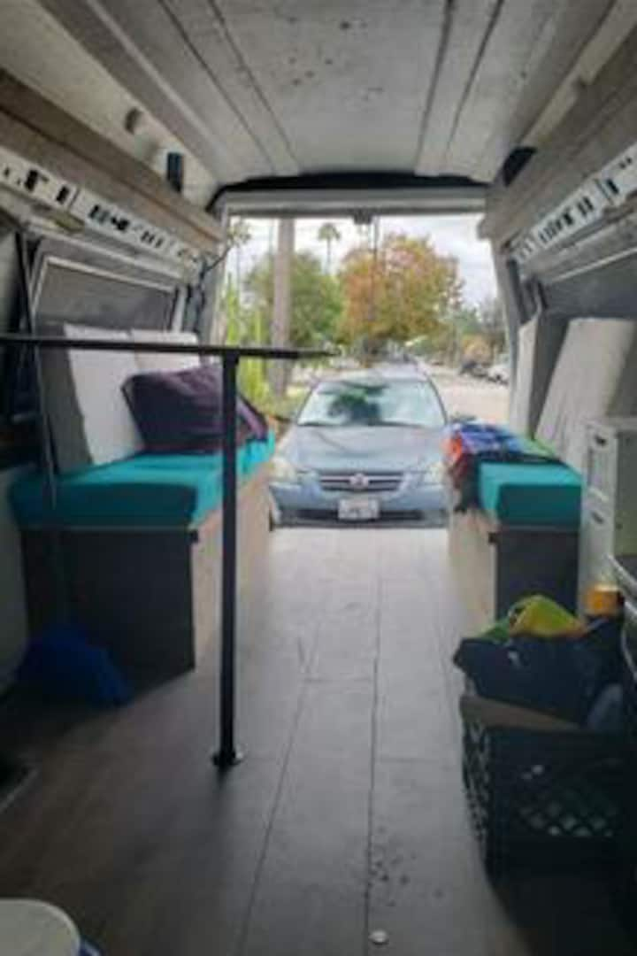 Cozy camper van available in orange County