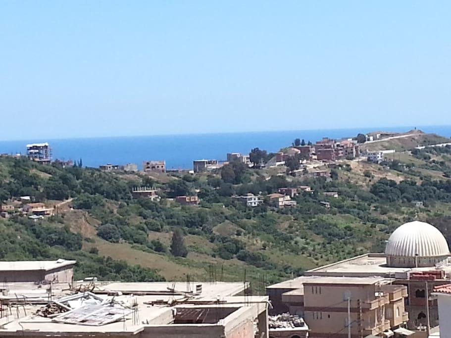 vue de la terrasse 2