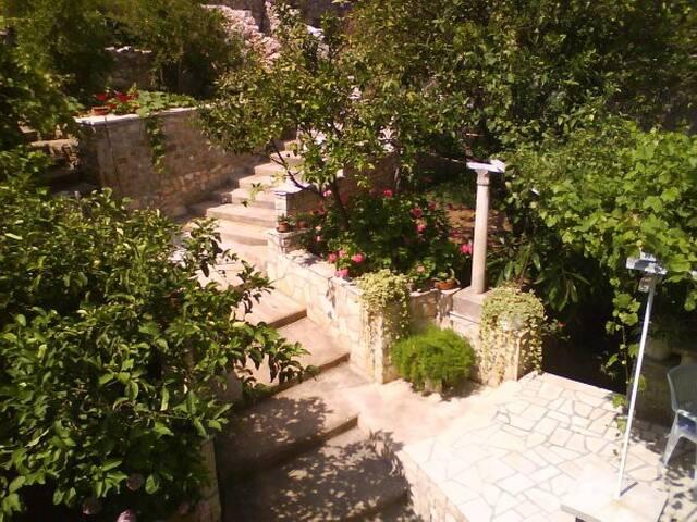 Dalmatian stone house * * *  (2+2) - Lombarda - Casa