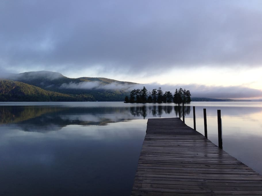 Huletts Landing on Lake George! Truly magical.