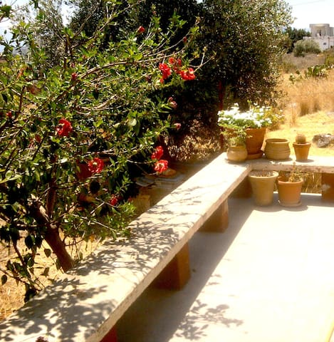 Sunny house 2 minutes from the sea! - Agios Nikolaos - Hus