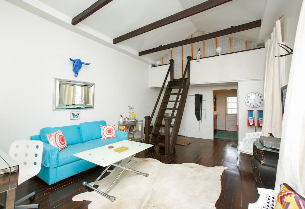 Funky one bedroom loft home houses for rent in new orleans louisiana united states for 1 bedroom for rent new orleans