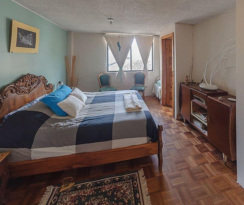 2do dormitorio, cama 2 plazaz