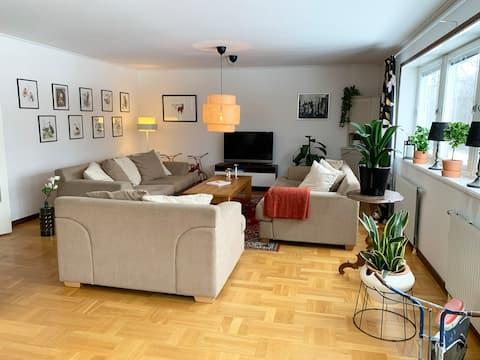 Stor lägenhet med bra läge i Höga Kusten