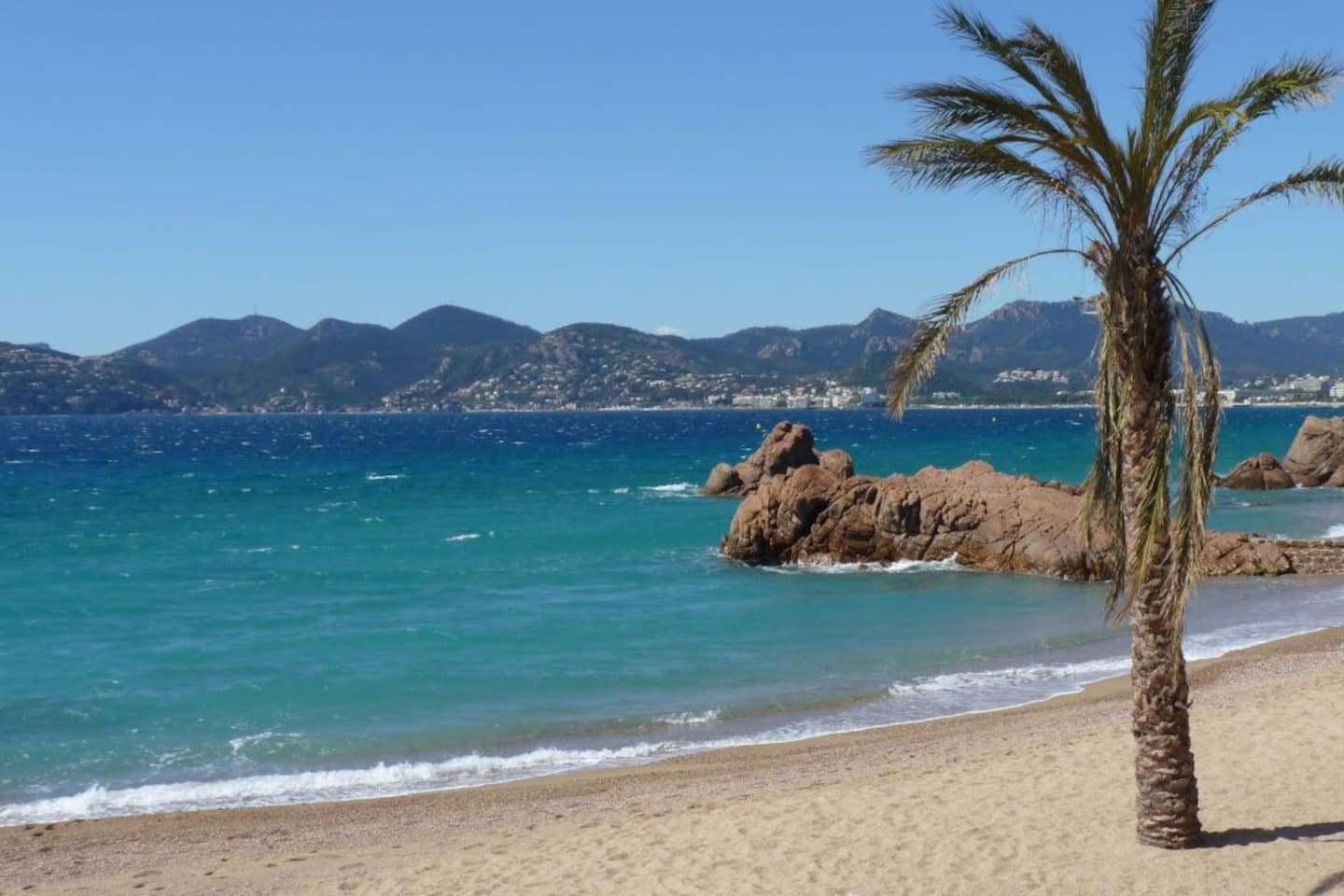 If you want to get away from the crowd, this is our favourite beach is right around the corner from the apartment.